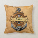 Personalized Nautical Anchor And Wheel