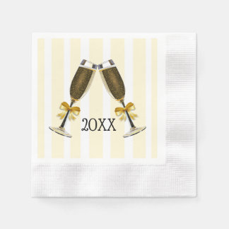 Personalized New Years Even Party Paper Napkins