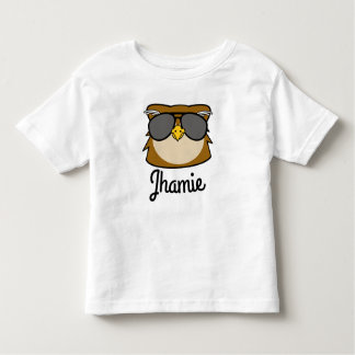 Personalized Night Owl Toddler T-shirt