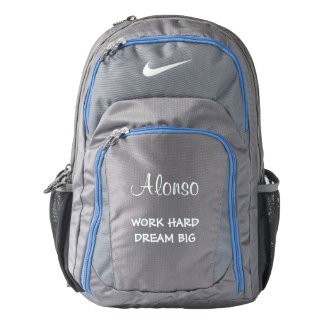 Personalized Nike Performance Backpack/Quote
