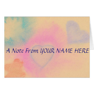 Personalized Notecards Card