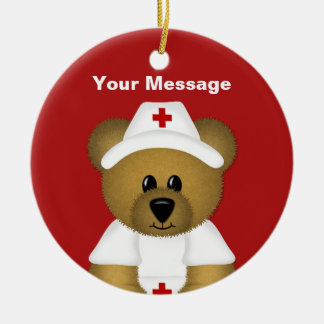 Personalized Nurse Christmas Ornament