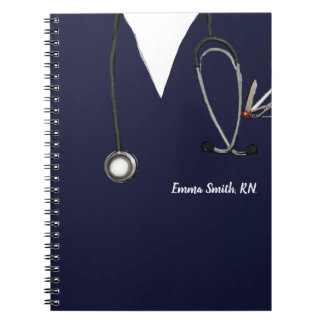 personalized nurse gift ideas notebook
