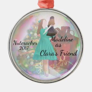 Personalized Nutcracker Ornament - Clara's Friend