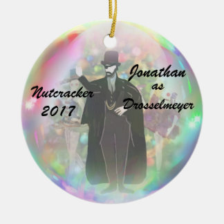 Personalized Nutcracker Ornament - Drosselmeyer