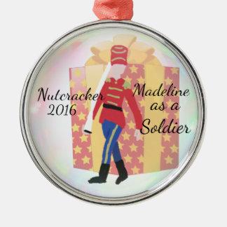 Personalized Nutcracker Ornament - Soldier