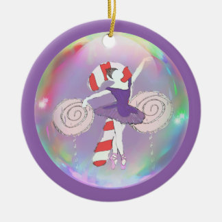 Personalized Nutcracker Sugar Plum Fairy Ornament
