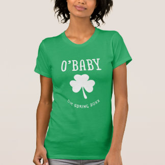 Personalized O'Baby Pregnancy Reveal t-shirt