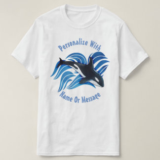 PERSONALIZED Ocean Orca T-Shirt