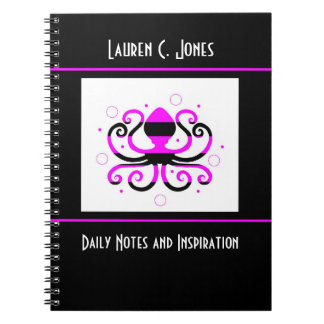 Personalized Octopus Journal Notebook