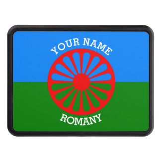 Personalized Official Romany gypsy travellers flag Trailer Hitch Cover