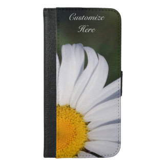 Personalized Offset Daisy iPhone 6/6s Plus Case