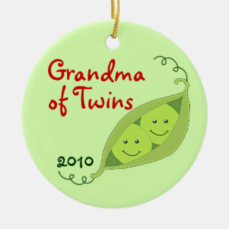Personalized Ornaments for Grandparents of Twins
