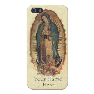 Personalized Our Lady of Guadalupe iPhone 5 Case
