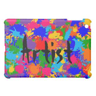 Personalized Paint Splatter iPad Mini Case