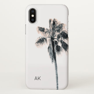 Personalized Palm Tree iPhone X case
