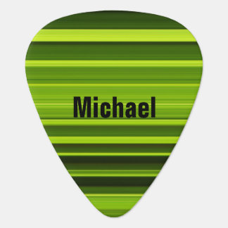 Personalized Palm Tree Leaf Texture Guitar Pick