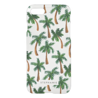 Personalized Palm Tree Print iPhone 8/7 Case