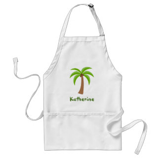 Personalized Palm Tree Standard Apron