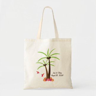 Personalized Palm Tree Tote