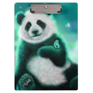 Personalized Panda Bear/Clipboard Clipboards