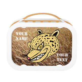 Personalized Panther Wildlife Lunchbox