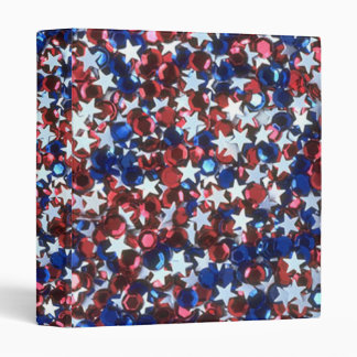 Personalized patriotic Avery Binder Memory book