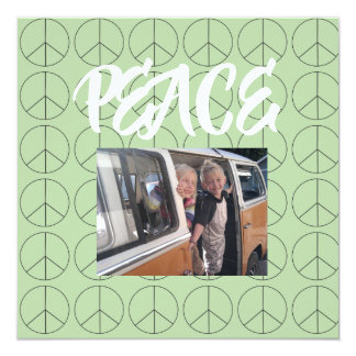 Personalized Peace Card