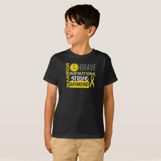 Personalized Pediatric Cancer Awareness T-Shirt