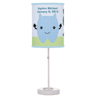 Personalized Peek a Boo Monsters Nursery Lamp