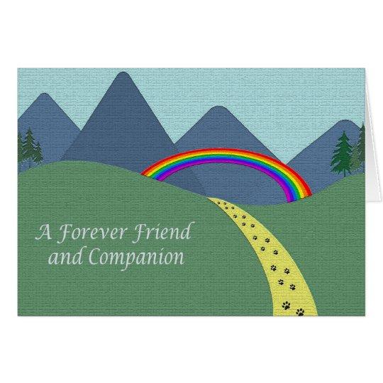 Personalized Pet Bereavement Sympathy Card