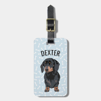 Personalized Pet Dachshund | Funny Pet Luggage Tag