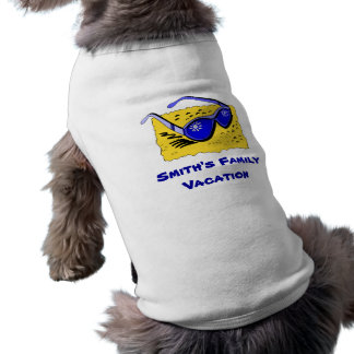 Personalized Pet Family Vacation Shirt Pet Clothing