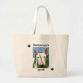 Personalized Pet Large Tote Bag