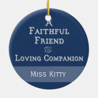 Personalized Pet Memorial Photo Ornament
