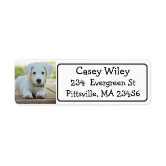 Personalized Pet or  Dog Address Label