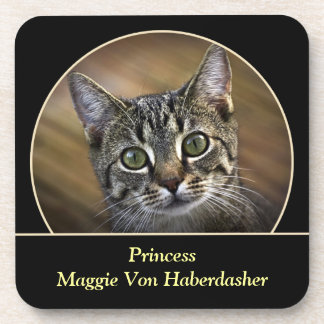 Personalized Pet Photo Cork Coaster