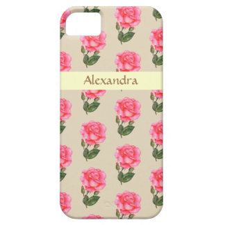 Personalized Phone Case Pink Roses