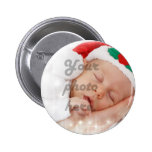 Personalized photo 2 inch round button