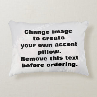 Personalized photo accent pillow. Make your own! Decorative Pillow