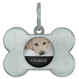Personalized Photo and Name Dog Tag