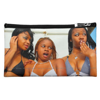 Personalized Photo Cosmetic Makeup Suede Bags M Cosmetic Bags