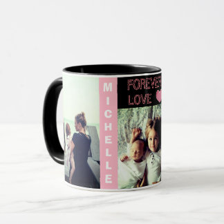 Personalized photo custom personal text mug