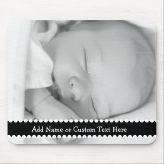 Personalized Photo Gift Custom Name or Text Mouse Pad