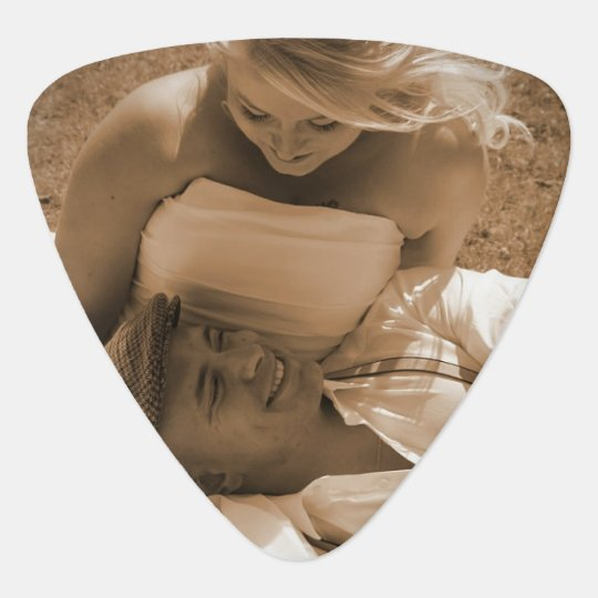 Personalized Photo Guitar Picks For Wedding