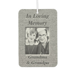 Personalized Photo Memorial Air Freshener