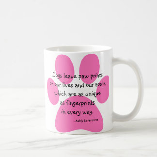 Personalized Photo Mug Dogs Leave Paw Prints