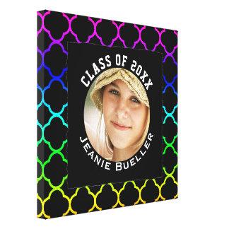 Personalized Photo of Graduate Custom Graduation Canvas Print