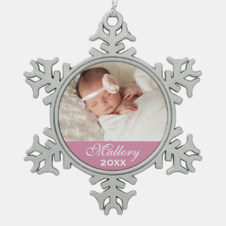 Personalized Photo Ornament | Custom Color