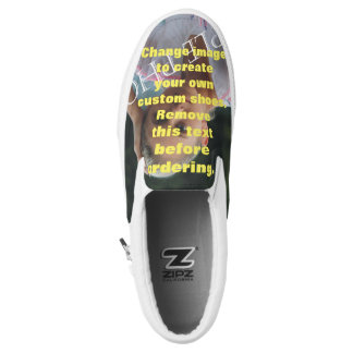 Personalized photo shoes. Create your own! Slip-On Sneakers